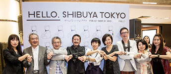 HELLO, SHIBUYA TOKYO was held in Singapore as part of the PARCO Cool Japan Project