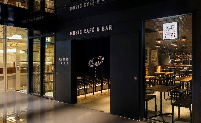 Music Cafe and Bar QUATTRO LABO